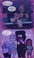 When he finds out - Steven Universe by Koizumi-Marichan