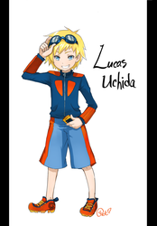 Digimon OC - Lucas Uchida by Petshop17