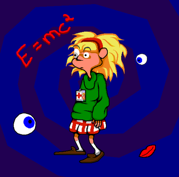 Day of the Tentacle - Laverne by KirbyWarrior