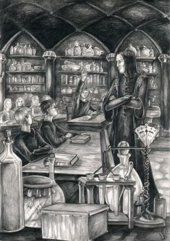 The Potions Master by carthasis