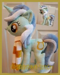 mlp plushie commission Lyra Heartstrings by CINNAMON-STITCH