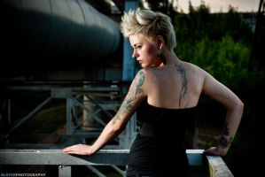 Industrial Girl 8 by slayerphoto