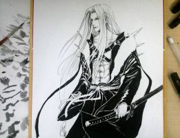 Sephiroth by cathrine6mirror