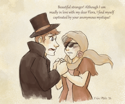 Beautiful Stranger by ErinPtah