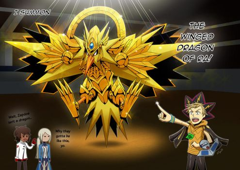 Zapdos The Winged Dragon Of Ra by monsieurpigeon