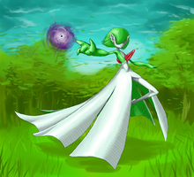 Gardevoir by coldfire0007