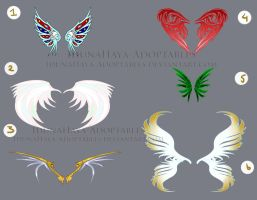 [closed] Wings Batch by IdunaHayaDesigns