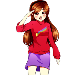 Anime Mabel by FlyingPings
