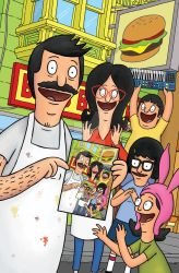 Bob's Burgers Free Comic Book day cover 2015 by FrankForte
