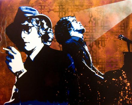 Warren Zevon by bobbyzeik