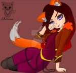FoxFae  (my oc) by CuddleKittyy