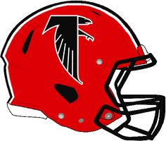 Revolution Speed Falcons 1984-1989 Helmet by Chenglor55