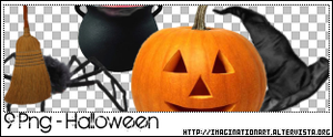 Halloween Png - Set 18 by pinkshadoww