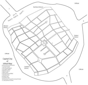 Map of the Ishbal Capital by R-Zion