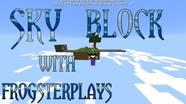 Skyblock EP.1 Thumbnail by minecraft5534