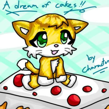 On A Giant Cake by charactor