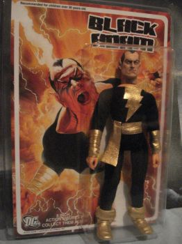 Black Adam w/ cardback by randomaxedesign