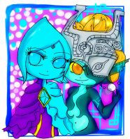 Midna and Fi by Danielle-chan