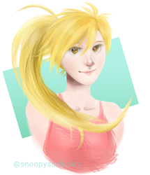 Smile Yellow by SnoopyScribbles