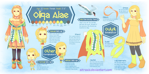 Oliqa Alae Character Sheet by Sitraxis