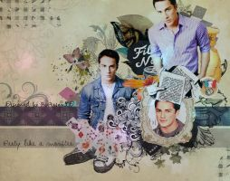 Michael Trevino Blend 003 by bulgarianxpersonxD