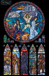 Star Wars Stained Glass - Classic by nenuiel