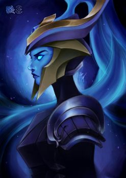 Championship Kalista by goldhedgehog