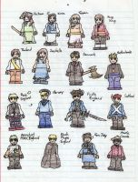 LEGO Hetalia Page 4 In Living Color by acklaygohome