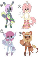 Anthro batch 2 [Closed] by BroodyAdopts