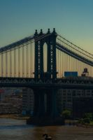 Manhattan Bridge by FreSch85
