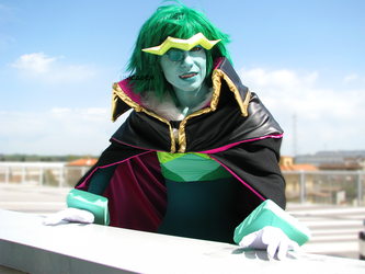 Emerald cosplay by UnicaGem