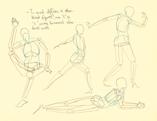 Hampton p.46-49: Limb Landmarks + Volume Studies by theThirdCartel