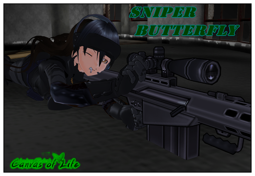 Sniper Butterfly by AndrewBaker69