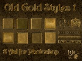 Old gold styles 1 by jojo-ojoj