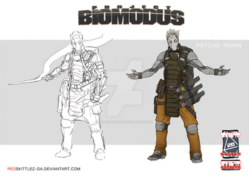 Project Biomodus: Psycho Ronin by RedSkittlez-DA