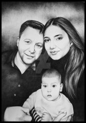 Portrait of a Family by ColinaFlorentina