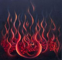 Birth of the Fire Element by Dream-Painter