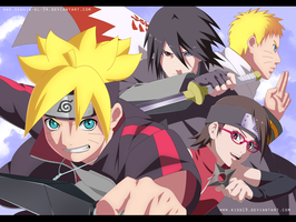 Shinobi Family - Collab by SenniN-GL-54