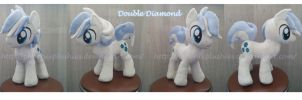 Double Diamond plushie by FeneksiA