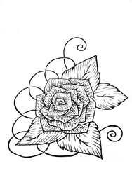 Rose design1 by Slow-Chemical-Design