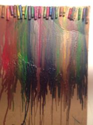 Melted crayons by artlover8400