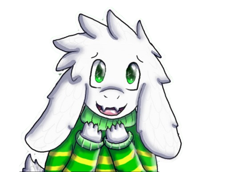 ASRIEL by Snowwingedwolf