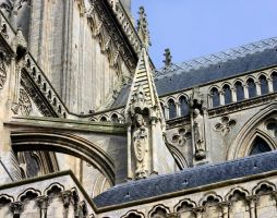 Cathedral of Bayeux Detail by UdoChristmann