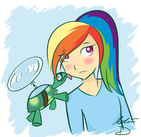 Tank and Rainbow by ForeverIncompetent