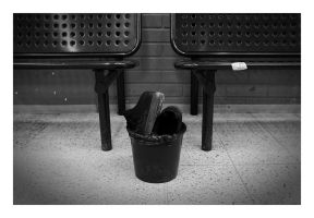 Goodbye Shoes by wchild