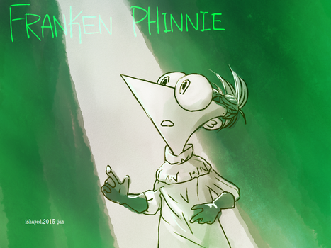 Franken-Phinnie by ishaped