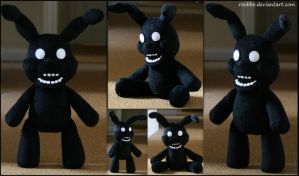 Five Nights At Freddy's  Shadow Bonnie Plush by roobbo