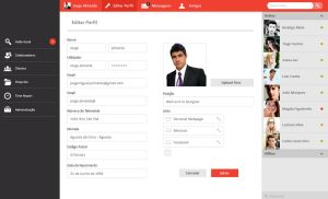 User Interface Backoffice by TheDpStudio