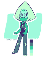 Peridot colour palette doodle by MushroomMoon