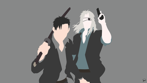Gangsta Minimalist Wallpaper by greenmapple17